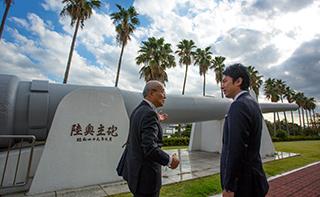 戦艦陸奥主砲の横須賀市帰還への取り組み